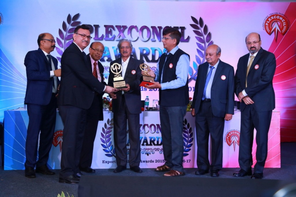 Greenlam Industries Ltd. awarded the largest Laminates exporter for Financial Year 2015-16 & 2016-17