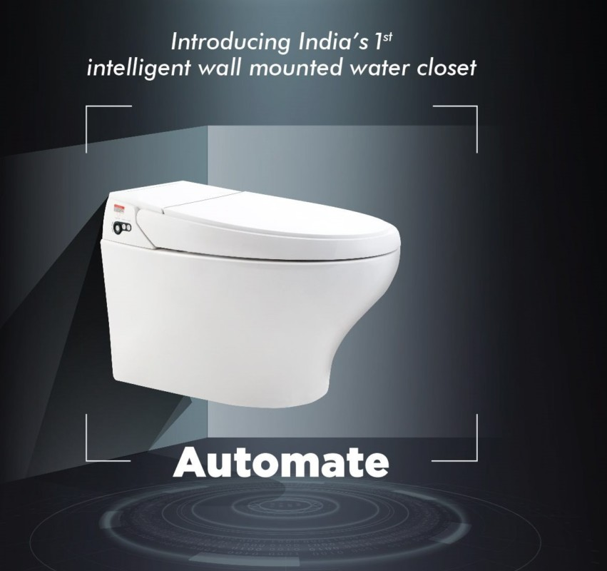 Amazing Hindware Italian Collection Launches Wall Mount Automate Gmtry Best Dining Table And Chair Ideas Images Gmtryco